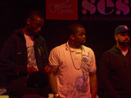 Just Blaze, 9th Wonder, & DJ Nu-Mark