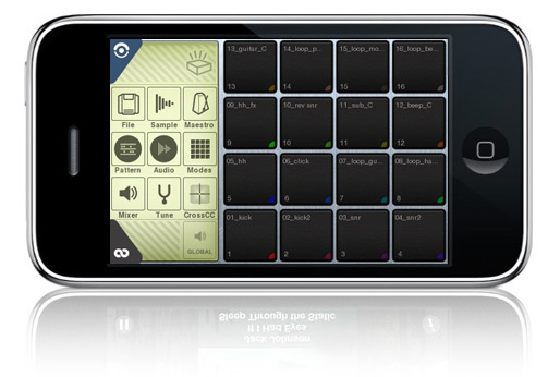 Beatmaker on iPhone