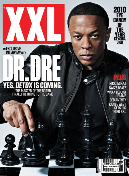 Dr. Dre on XXL Magazine Cover