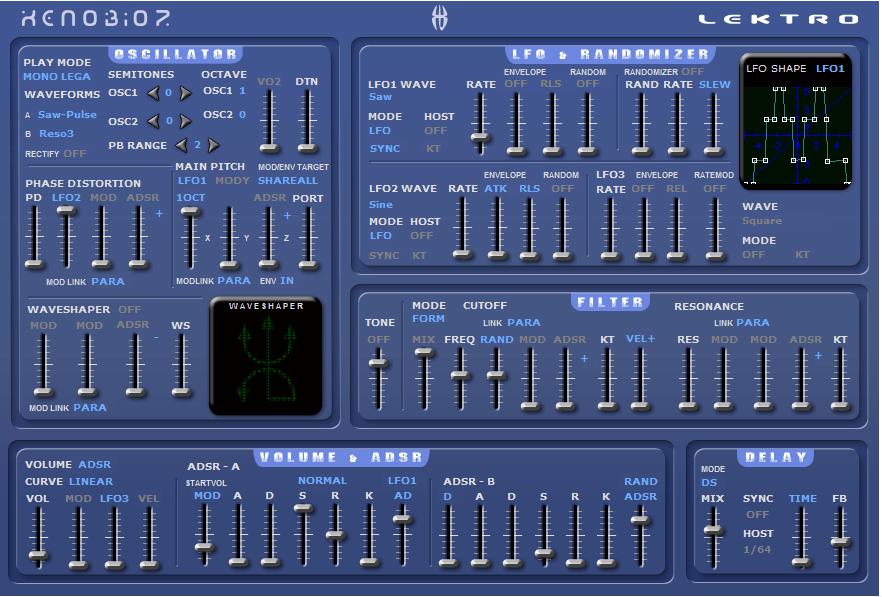 Lektro VSTi - Free Synthesizer
