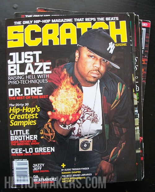 Just Blaze Scratch Magazine