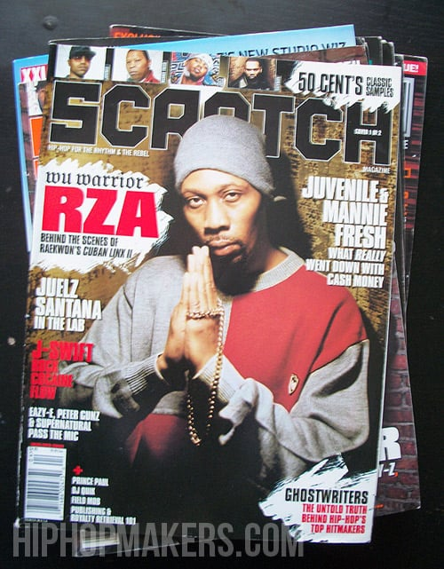 RZA Scratch Magazine