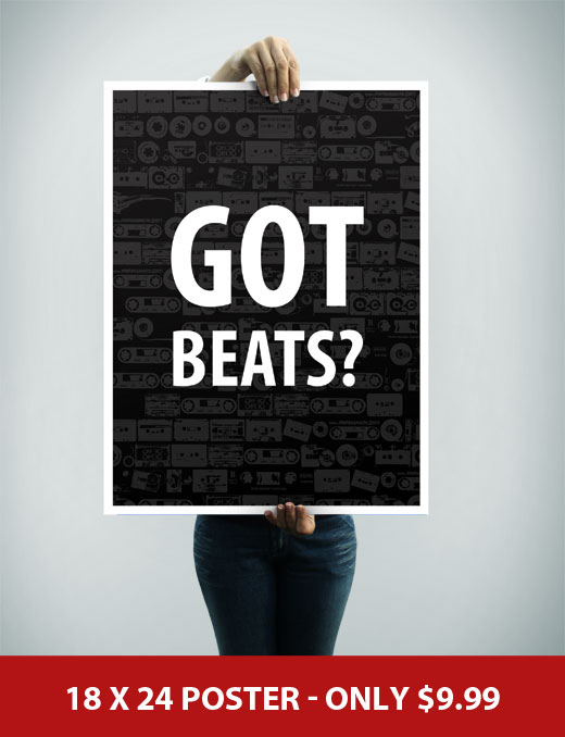 Got Beats Music Poster