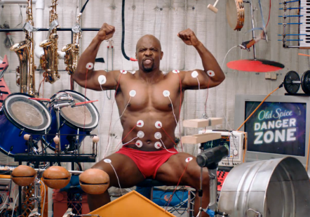 "Old Spice ""Muscle Music"" ( Funny )"