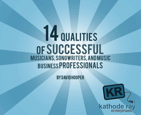 14 music production music marketing ebooks under 5 14 qualities of successful musicians fandeluxe Choice Image
