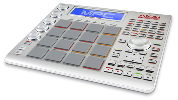 Akai Professional MPC Studio Music Production Controller with 9+GB Sound Library