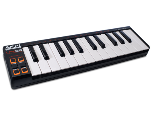 Akai LPK25 25-Key Ultra-Portable USB MIDI Keyboard