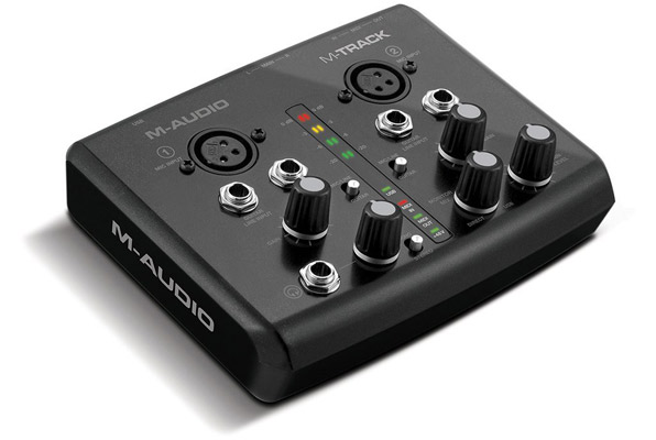 M-Audio M-Track 2-Channel Portable USB Audio and MIDI Interface with Ignite by AIR and Ableton Live LIte