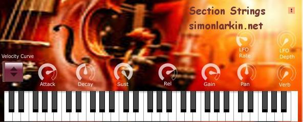 Section Strings VST Plugin