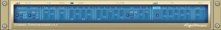 String Synthesizer VST Plugin