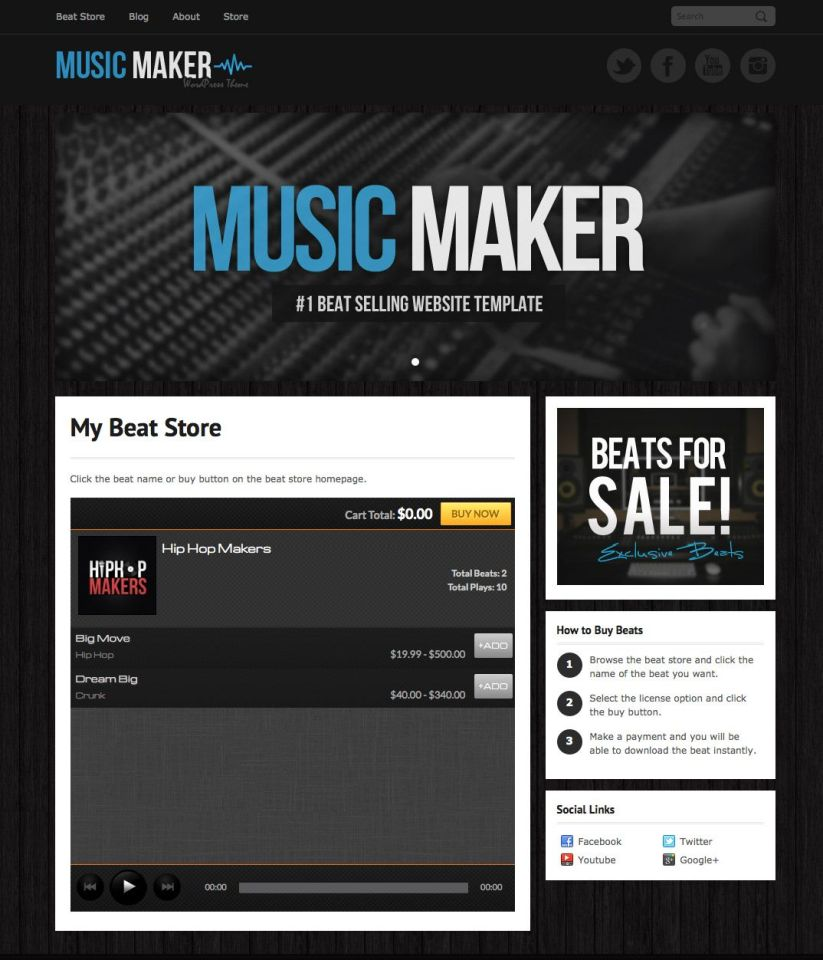 Check out how the myFlashStore player can look on your website.