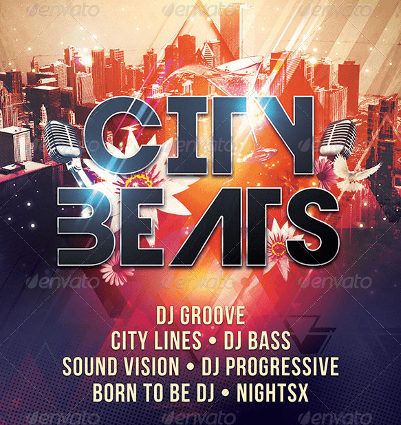 City Beats Flyer