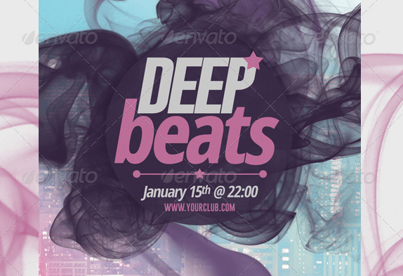 Deep Beats Party | Flyer