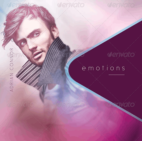 Emotions: CD Cover Artwork Template