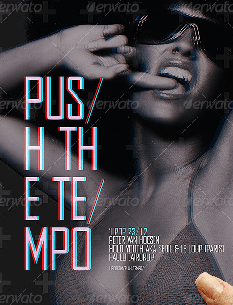 Push The Tempo Flyer