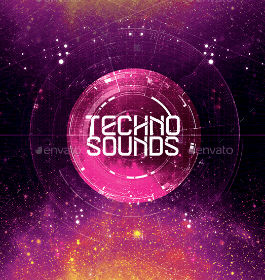 Techno Sounds Flyer