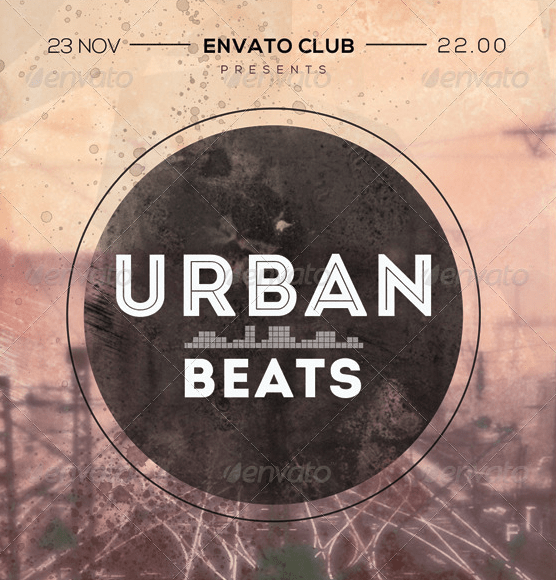 Urban Beats Flyer