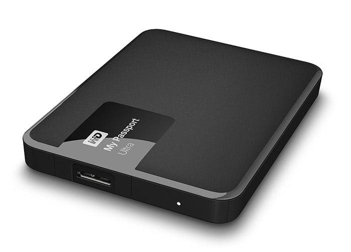 WD My Passport Ultra 1 TB Portable External Hard Drive