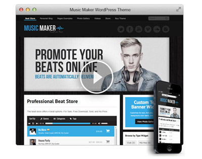 music-maker-wordpress-theme