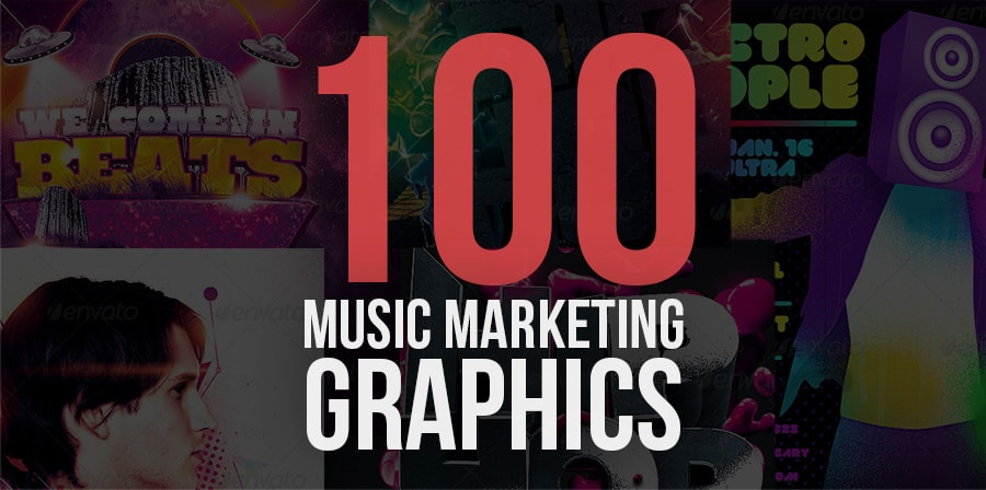 Music Marketing Graphics ( Paid & Free Music Graphics )