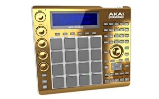 Gold Akai Professional MPC Studio