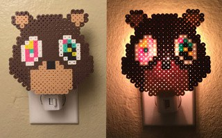 Kanye West Bear Night Light