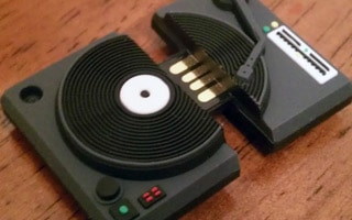 Mini Turntable USB Drive