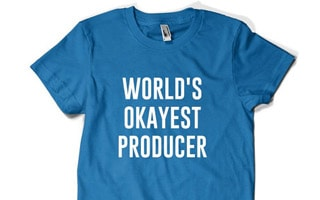 World's Okayest Producer T Shirt
