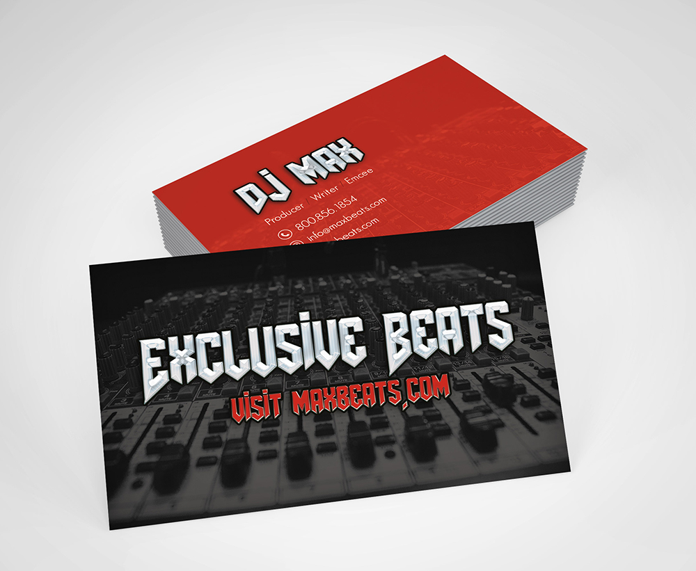 Music producer business cards choice image free business cards membership included graphics business card template magicingreecefo choice image magicingreecefo Images