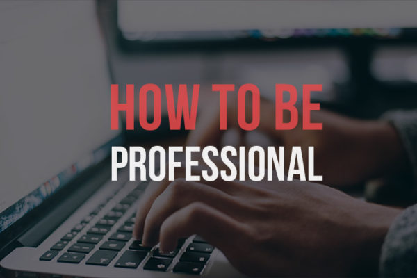 How to Be More Professional Online