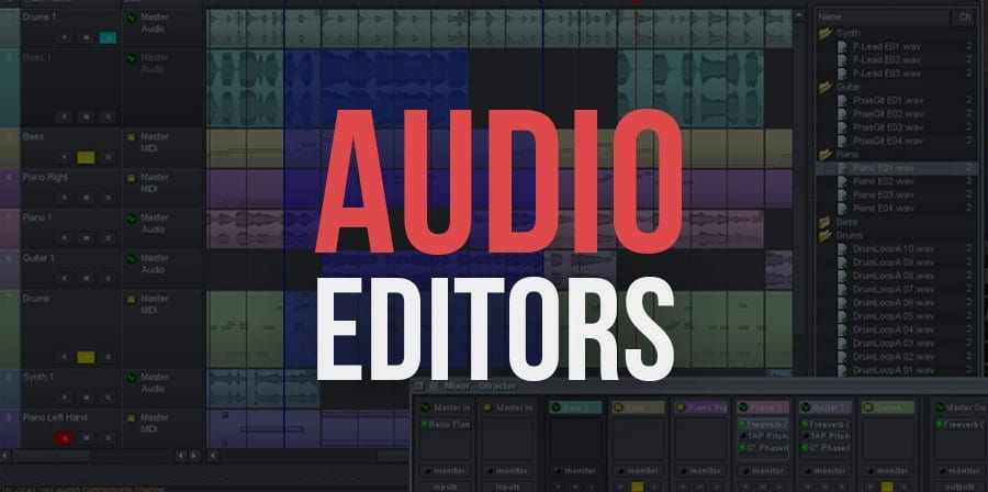 Free Audio Editing Software Programs ( Free Audio Editors )