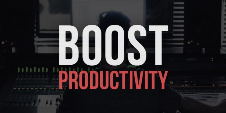 How to Be Productive with Music Production