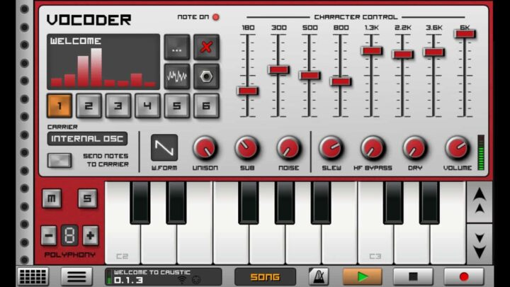 Caustic 3 - Mobile Beat Maker Apps