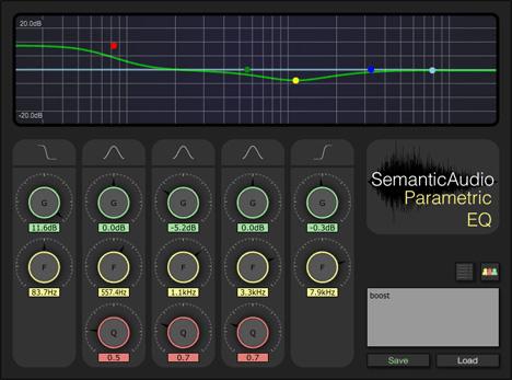 Emantic Audio SAFE Equaliser