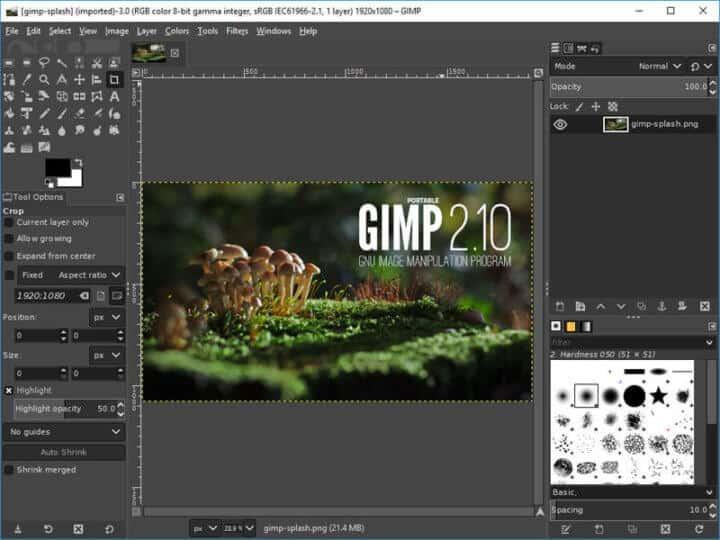 GIMP - Best Free Graphic Design Software