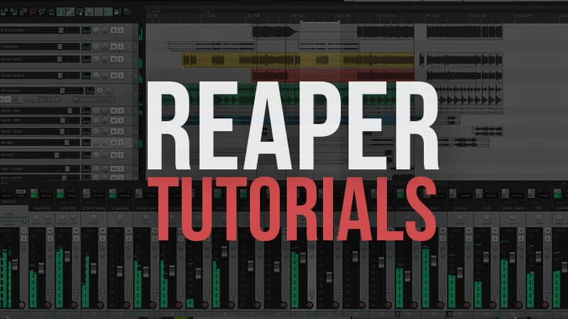 How to Use Reaper ( Reaper Tutorials )