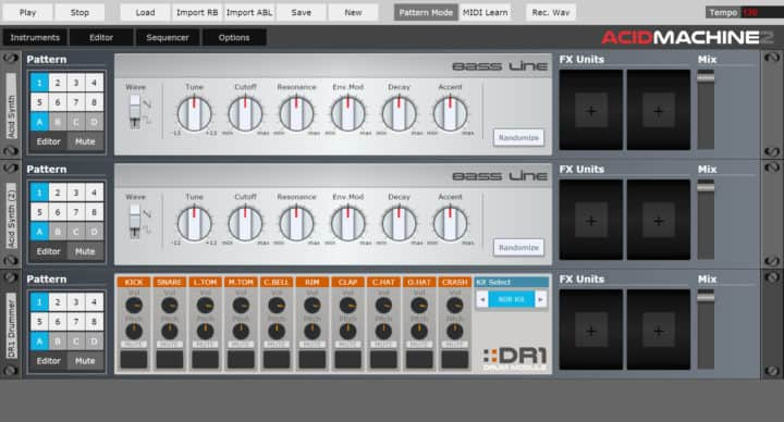 Acid Machine 2 - Free Online Sequencers