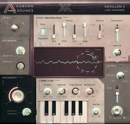 Graillon 2 - Free Autotune VST Plugins