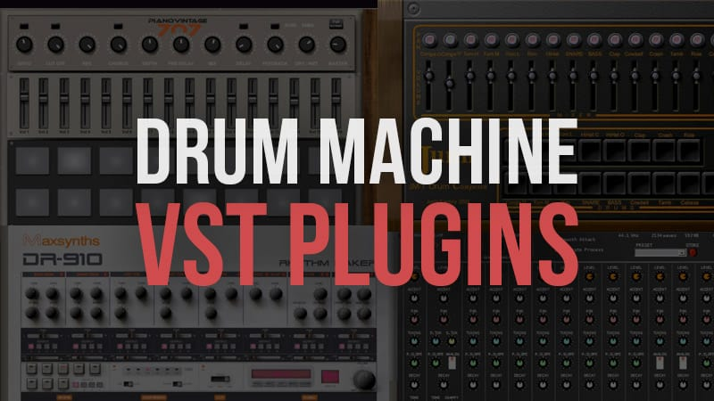 15 best free drum machine vst plugins. Black Bedroom Furniture Sets. Home Design Ideas