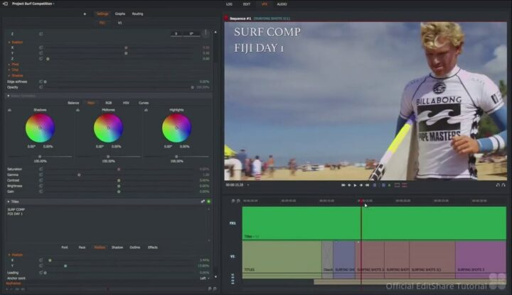 Lightworks Free Video Editing Software