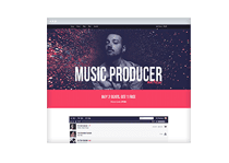 Beat Selling Website Template Music Maker Theme