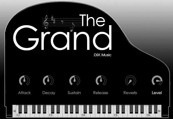 DSK The Grand - Free Piano VST Plugins