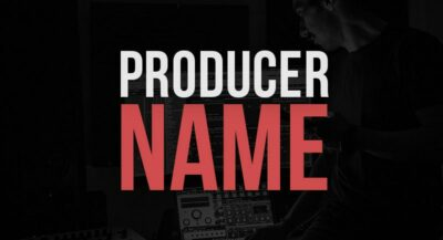 Create a Music Producer Name or Stage Name - 17 Tips