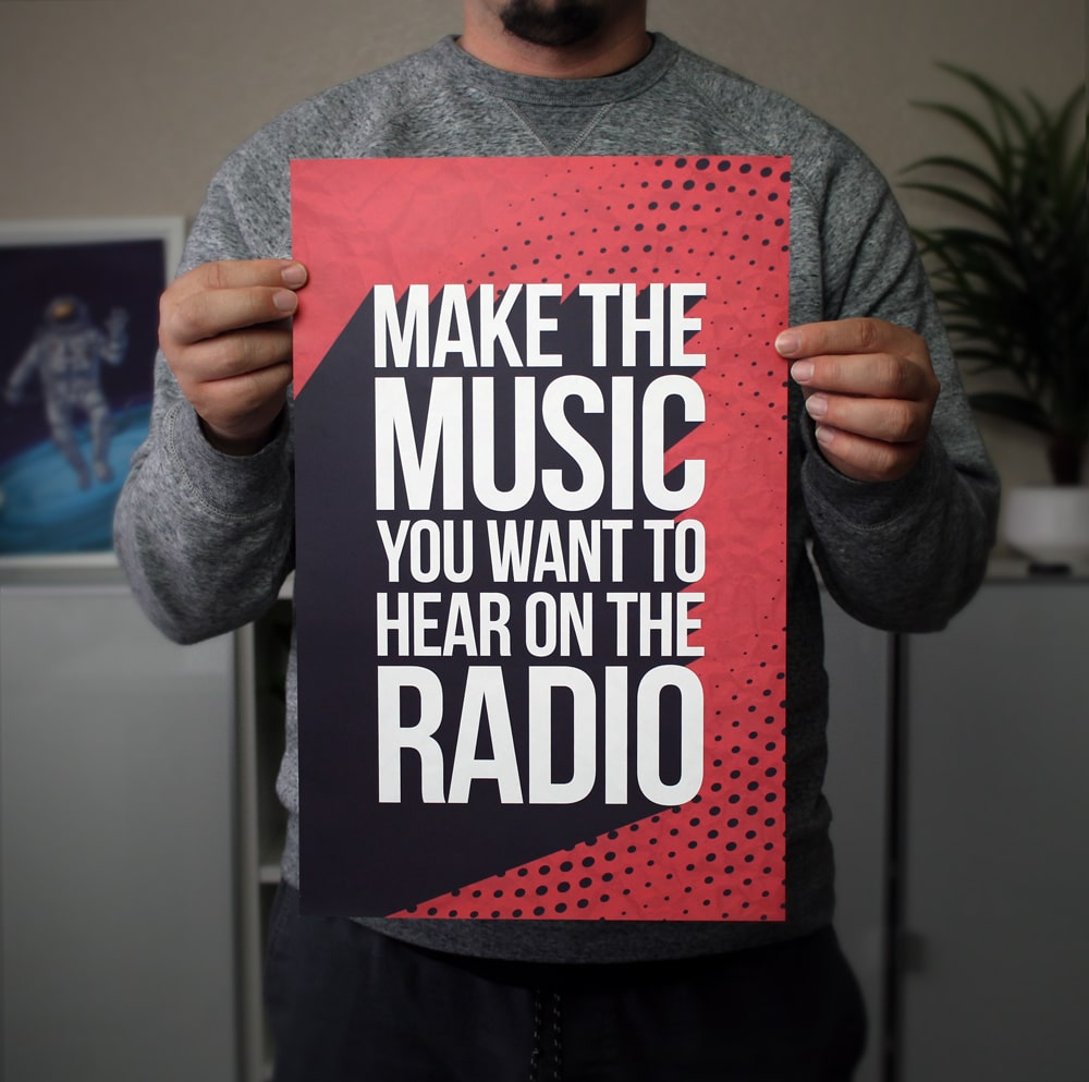 Make the Music You Want to Hear on the Radio