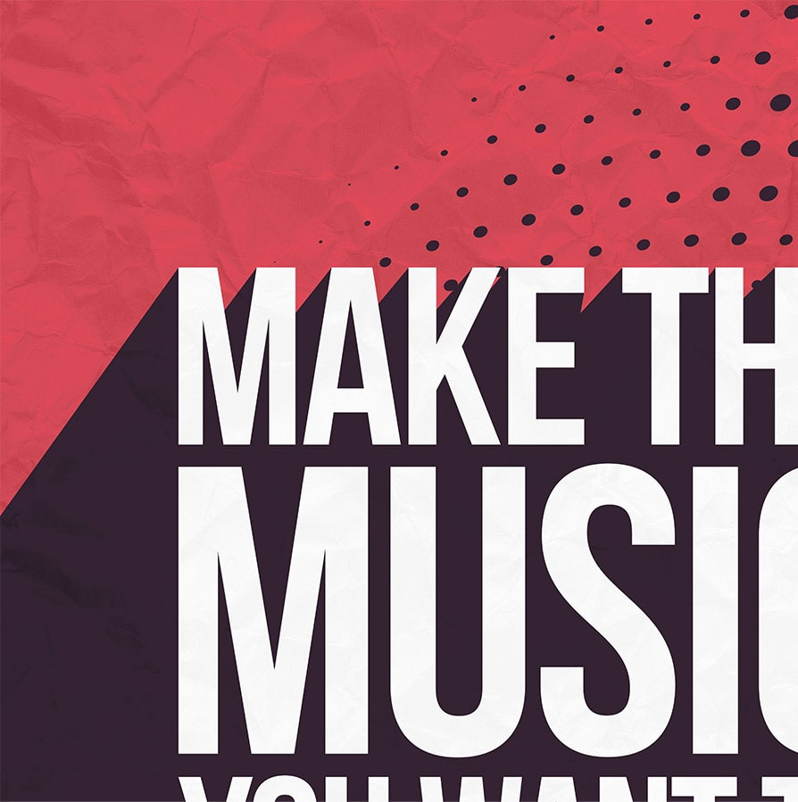Music Producer Poster