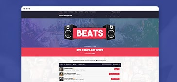 Sell Beats & Products Online