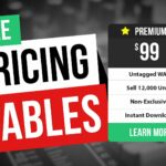 How to Add a Free Pricing Table to Your Music Website Easily
