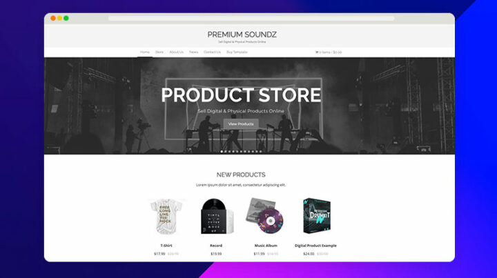 Create a Website to Sell Sample Packs Online