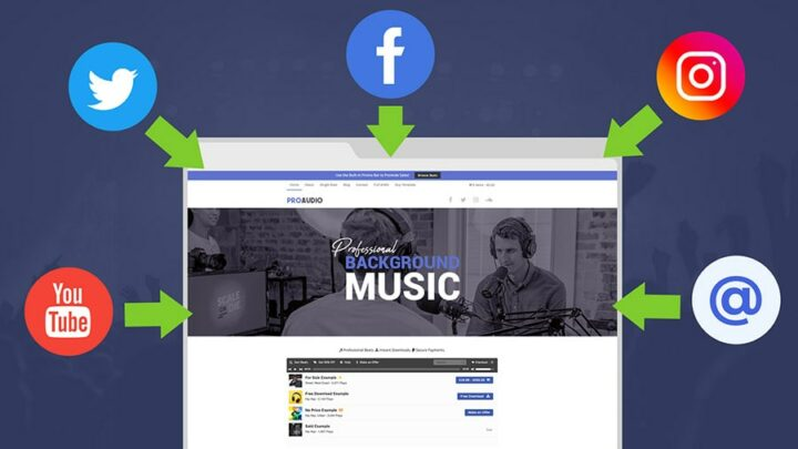 Promote Your Background Music