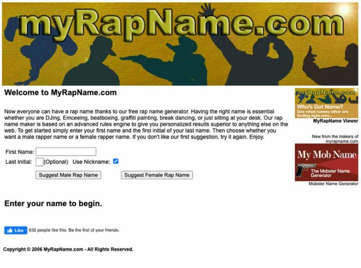 My Rap Name